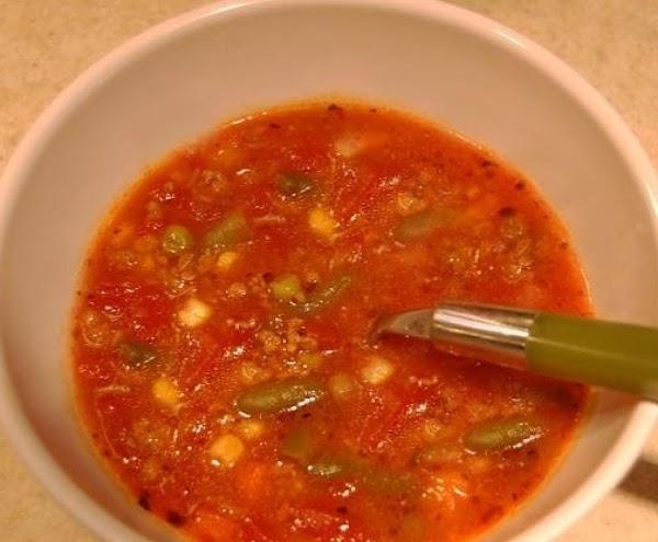 Mama's Veggie Beef Soup Recipe