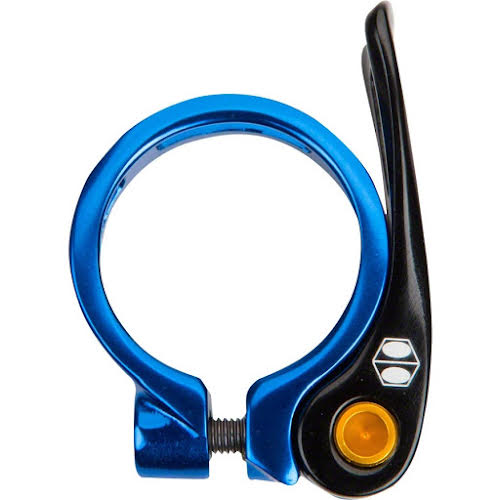 BOX One Helix Quick Release Seat Clamp, 34.9mm, Blue