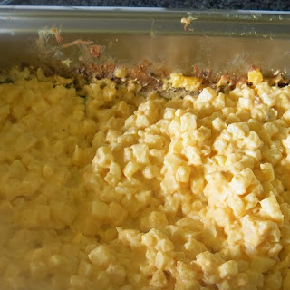 Crowd Size Cheesy Potatoes Recipe