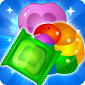 Cookie Candy Saga Match 3 game: Sweet Puzzle mania