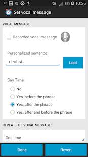 Talking Alarm Clock Pro Free - náhled