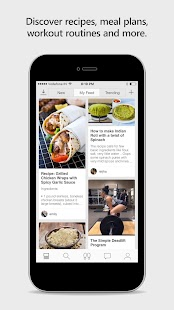 StayWow Fitness Social Network- screenshot thumbnail