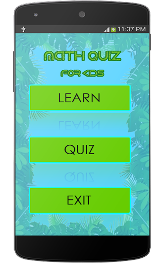 Learn Quiz Math for Kids.