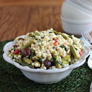 Asparagus Couscous Salad