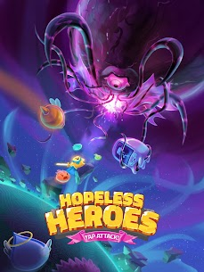 Hopeless Heroes: Tap Attack MOD (Unlimited Money) 5
