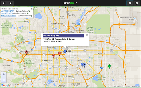 strainDar - Cannabis Locator- screenshot thumbnail