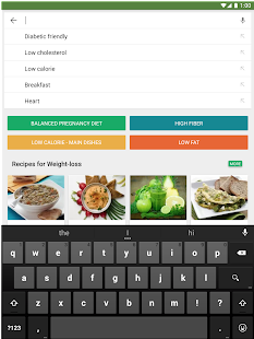 Healthy recipes - Fitberry- screenshot thumbnail
