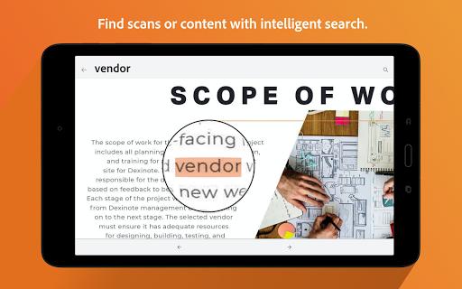Adobe Scan: PDF Scanner with OCR, PDF Creator screenshot 11