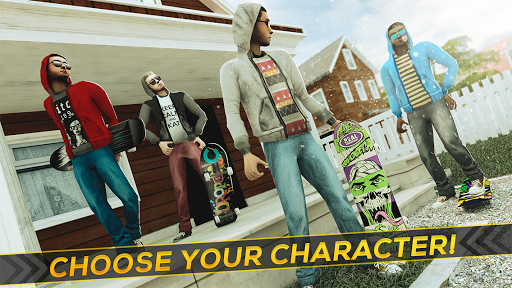 True Skateboarding Ride Skateboard Game Freestyle 2.11.7 screenshots 12
