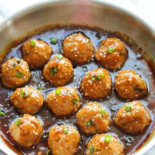 Asian Quinoa Meatballs.