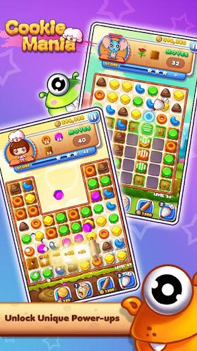 Cookie Mania - Match-3 Sweet Game  screenshots 3