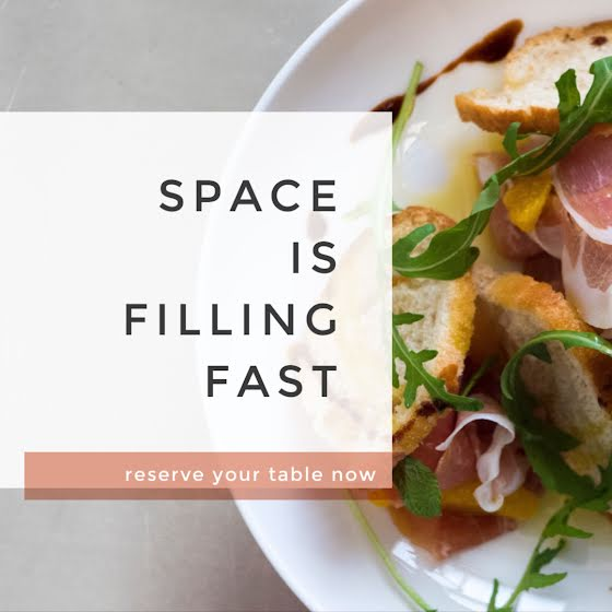 Reserve Your Table Now - Instagram Post Template
