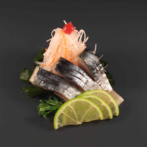 Marinated Mackerel Sashimi