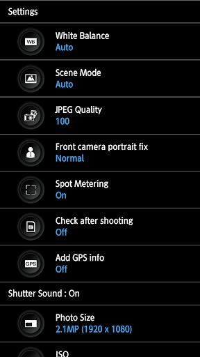 HD Camera - silent shutter screenshot 2