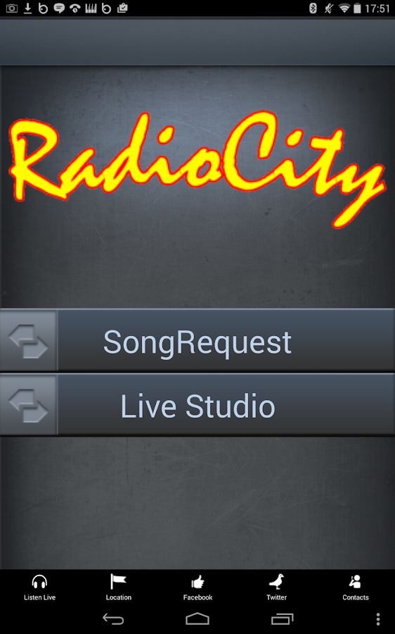 Radio City 1386AM (2.2+) - screenshot