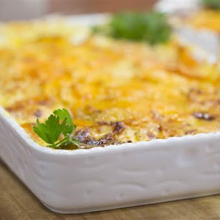 One-Pan Cheesy Root Vegetable Casserole