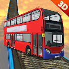 impossible tracks crazy bus simulator 2018 icon