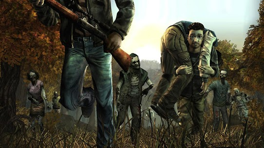 The Walking Dead Season ONE 1.04 Apk + Mod + Data for Android 3