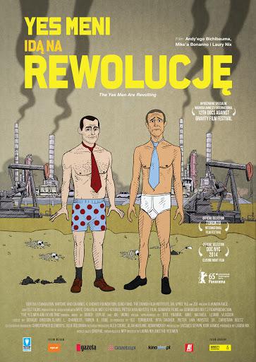 Polski plakat filmu 'Yes Meni Idą Na Rewolucję'