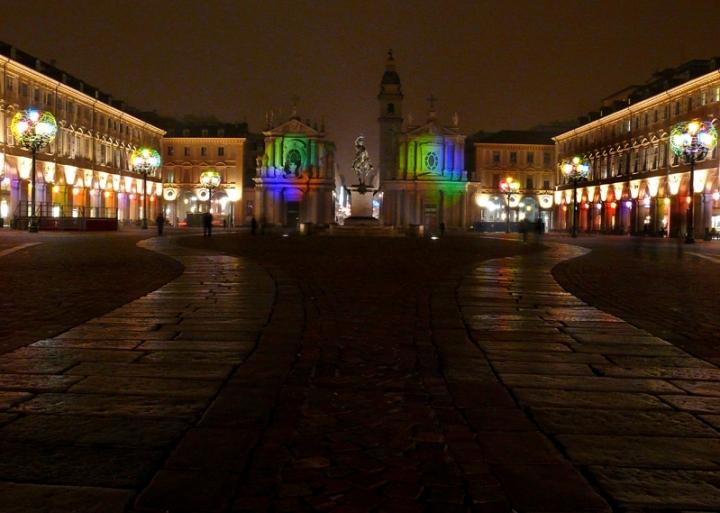 Luci d'artista a Torino di alessandroaccossato