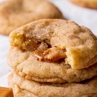 Soft Caramel Snickerdoodles