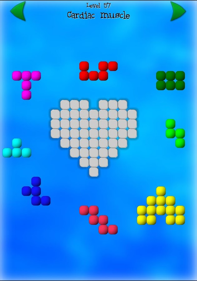 Shape Fitter puzzle- screenshot