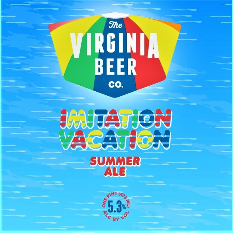 Logo of Virginia Beer Co. Imitation Vacation