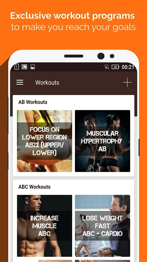 Gym WP - Workout & Fitness- screenshot