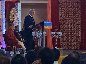Photo: PM Stephen Harper speaking at the 14th National Diwali Celebration.  http://canadaindiaeducation.com/ciec-and-harper-attend-14th-national-diwali-celebration
