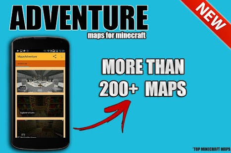 Adventure maps for mcpe screenshot