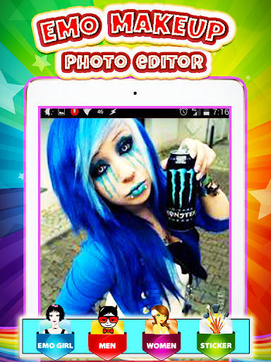 Emo Makeup Photo Editor Apk by Crazy Lab Apps - wikiapk com