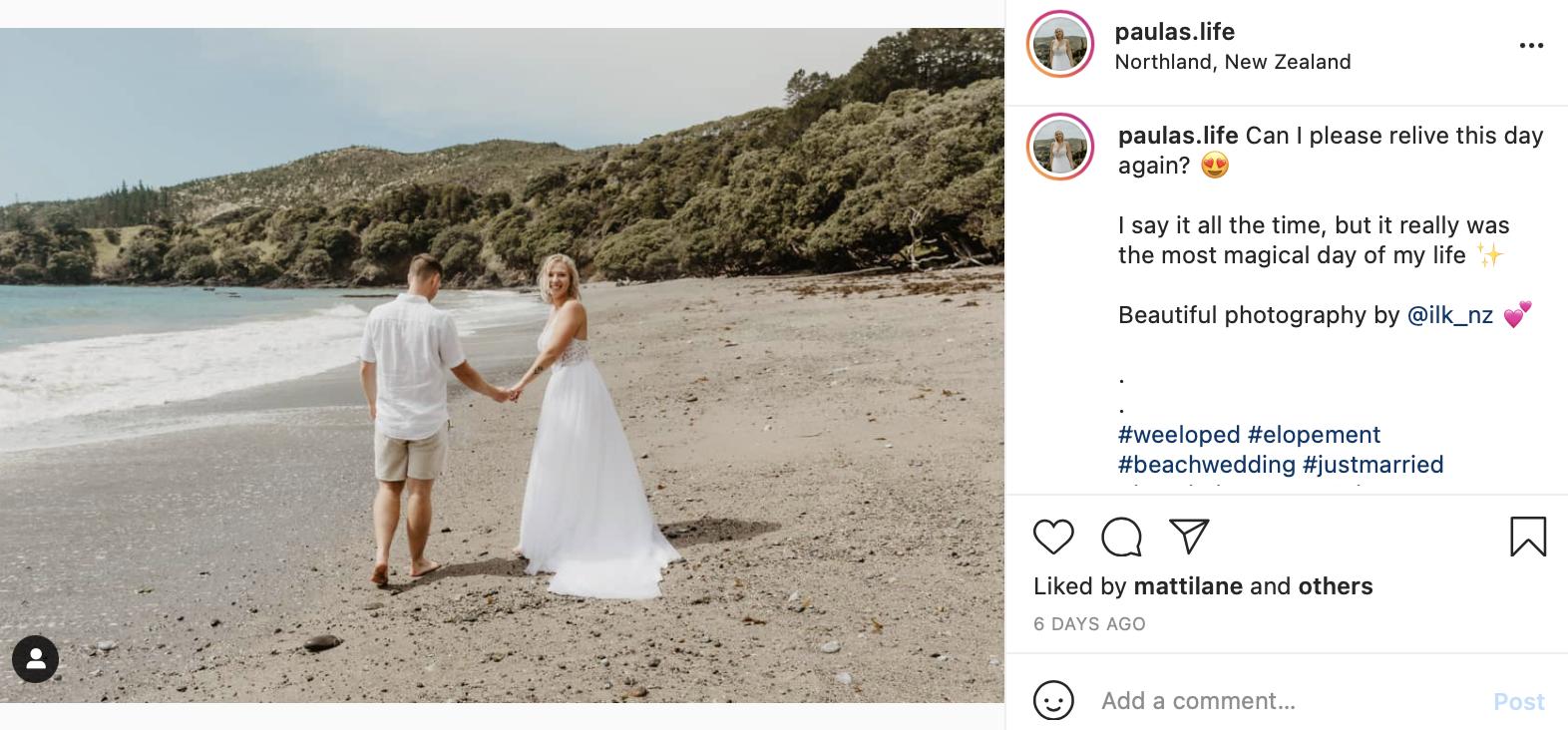 barefoot wedding on the beach