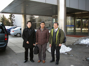Photo: March 18 (Thursday) visited Shenyang Institute of Automation