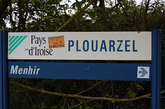 Photo: BRETANYA 2013. PLOUARZEL, camí accés al menhir de Kerloas.