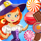 Candy Witch - Bubble Shooter
