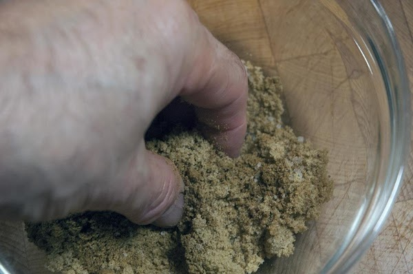 Use your fingers to break up the brown sugar… A chef's best tools are...