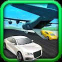 City Airport Cargo Plane 3D icon