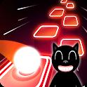 Scary Cartoon Cat Theme  Music - Beat Hop tiles icon