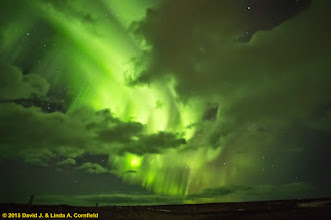 Photo: Aurora Borealis, Iceland 2015