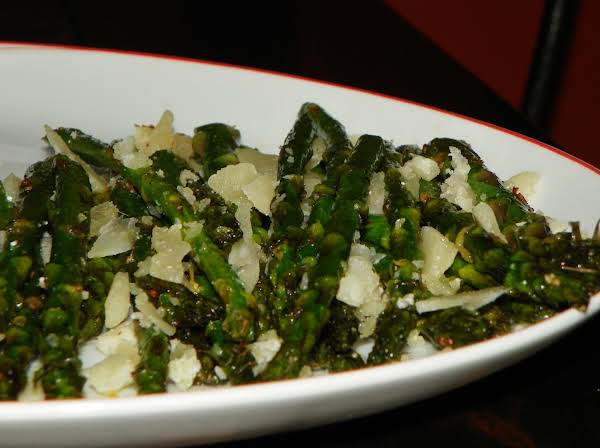 Asparagus With Lemon And Pecorino Recipe