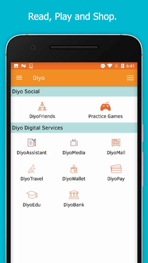 Diyo  Daily Assistant- screenshot