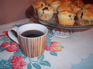 Blueberry Buttermilk Muffins Recipe
