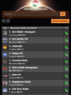 Online Stream - Magyar online rádiók - náhled
