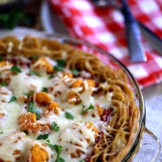 Chicken Parmesan Spaghetti Pie Recipe