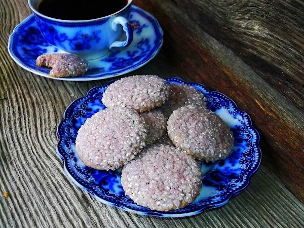 Hibiscus Lemon Cookies Recipe