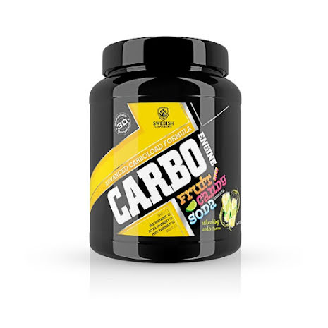 Swedish Supplements Carbo Engine 1000g - Refreshing Soda