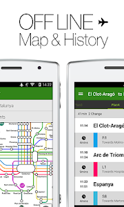 Transit Spain by NAVITIME screenshot 1