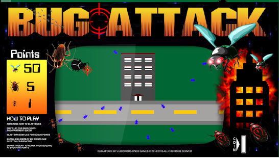 Bug Attack!- screenshot thumbnail