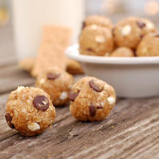 Peanut Butter Smore's Granola Bites.