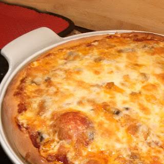 Honey Crust Pepperoni Pizza